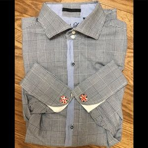 ENGLISH LAUNDRY L/S Button Down Med